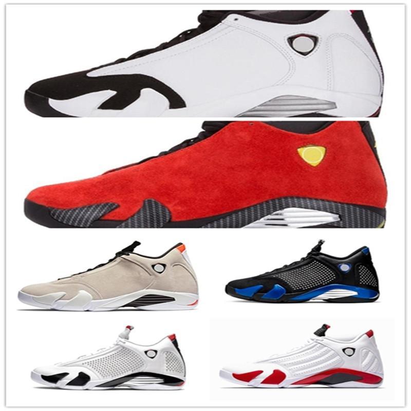 Hot 14 SE Ferr nero 14s XIV uomini Pattini di pallacanestro SPM x White Hyper Reale Candy Cane Thunder Mens Sneakers Trainers
