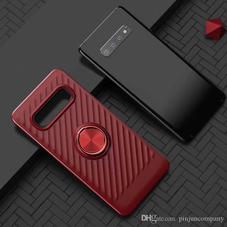 Для Samsung Galaxy A10 A20 A30 A40 A50 360 Вращающееся Кольцо Автомобильный Держатель Чехол для Мобильного Телефона Аксессуары для Мобильных Телефонов Shell Cover