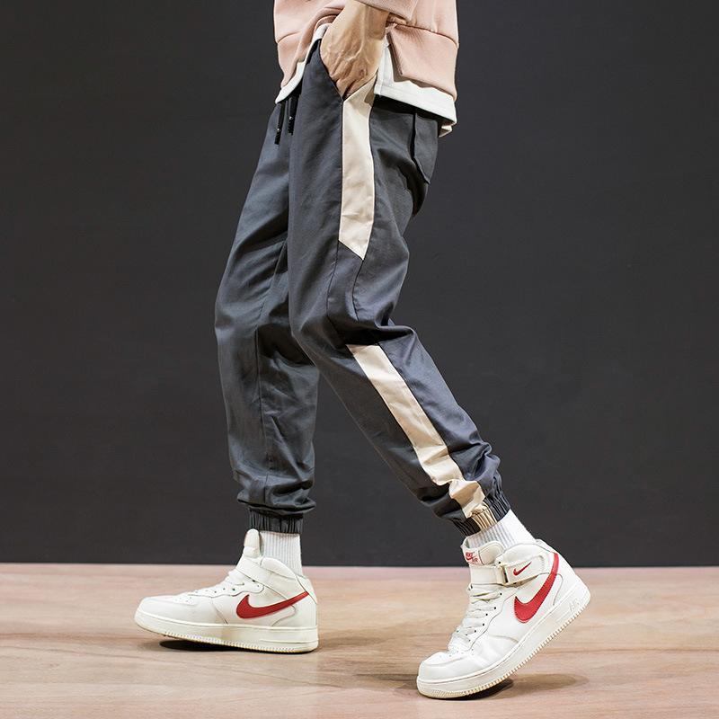 Designer Sweatpants Homens Corredores 2020 New Pants Casual Mens marca de roupas de qualidade Calças masculinas Joggers dos homens de alta moda Hip Hop Calças