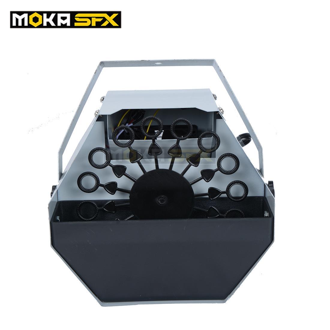 2pcs/lot Moka MK-B03 60W Mini Bubble Maker Machine with Remote Control Special Stage Party Effect