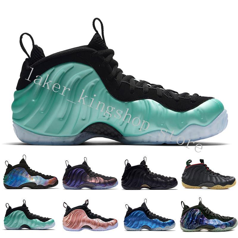 2020 nouvelle Hardaway Mousses Denim olympique Habanero Chaussures de basket-ball Pro Sequoia Aubergine Noir Metallic Gold Hommes authentiques Chaussures de sport Sport trois