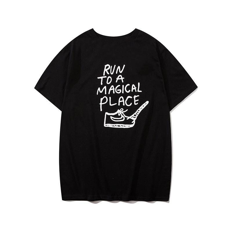 2020 yaz tasarımcı kadın ve erkek tişört yeni sokak çekim gelgit marka eğlenceli kadın ve erkek çift modelleri kısa kollu nokta wholesale1