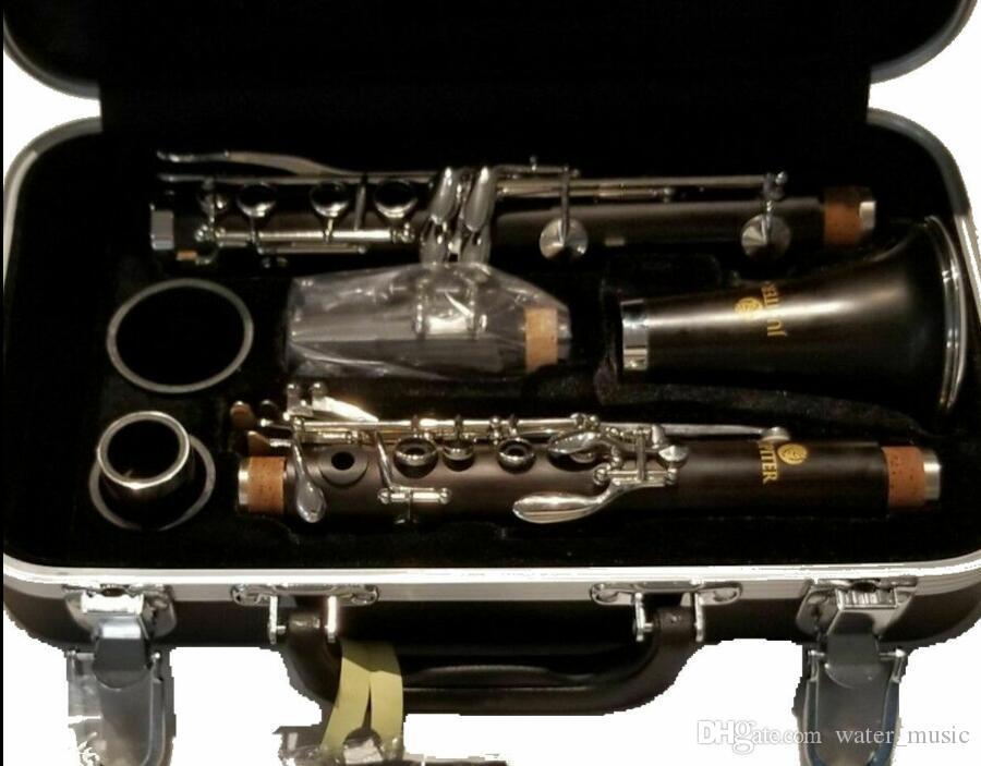 Taiwán original Júpiter jcl750na Hannover clarinete Bb 17 Clave baquelita Silver Key Clarinetes para principiantes Instrumento de viento de madera