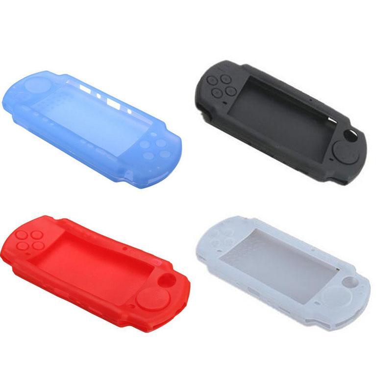 소니 플레이 스테이션 포터블 PSP 2000 3000 콘솔 PSP3000 바디 프로텍터 스킨 케이스를위한 실리콘 소프트 보호 커버 쉘