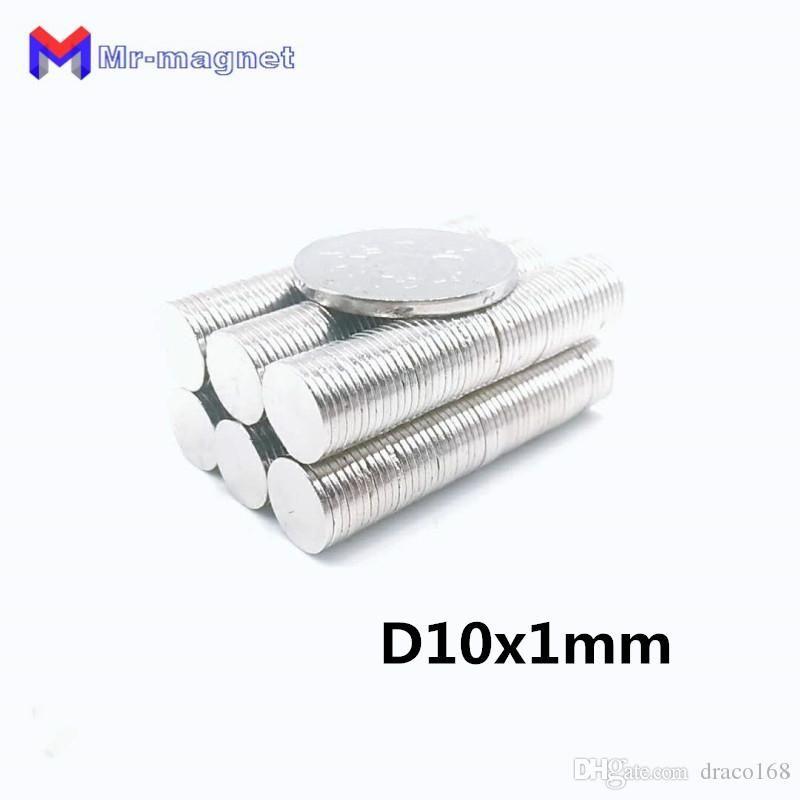100pcs 10mm x 1mm Süper güçlü mıknatıs, D10x1mm mıknatıslar kalıcı mıknatıs 10x1mm nadir toprak 10 * 1 D10 * 1mm 10 * 1mm mıknatıs imanes 10x1