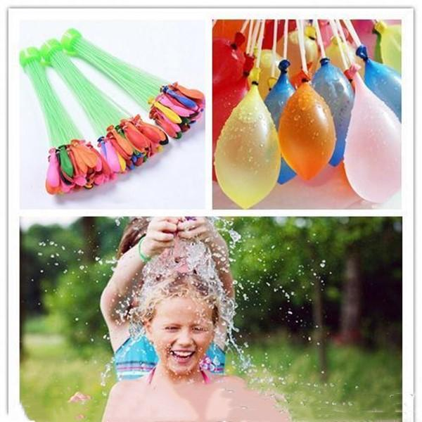 111Pcs Lot Water filled Balloon Bunch of Balloons Amazing Magic Water Balloon Bombs Toys filling Water Ballons Games Kids Gag Toys