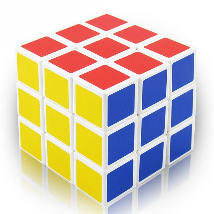 5,7cm cubo mágico Speed Professional Classic Puzzle Cubo Educación Torsión Juguetes para adultos y niños regalo