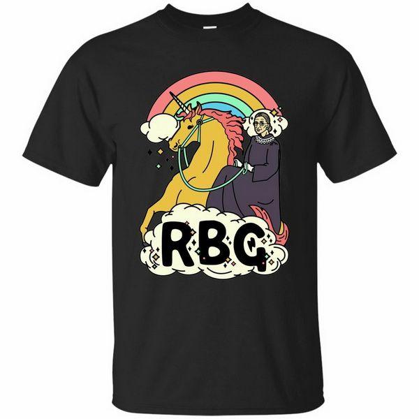 Rbg T-shirt Notorious Ruth Bader Ginsburg T-shirt Combatti Black Navy 49Th 30O 40Th 50 ° compleanno Tee Shirt