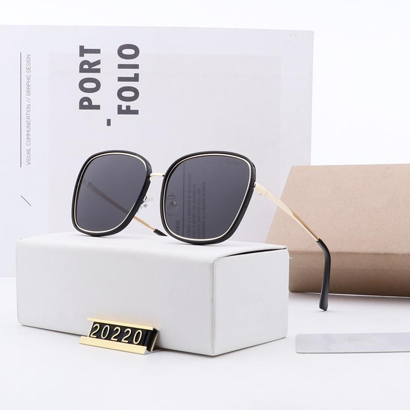 حقائب التجميل الساخنة ذات نوعية جيدة النساء العلامة التجارية مصمم النظارات الشمسية العلامة التجارية الاستقطاب النظارات الشمسية للنساء مصمم 20220 النظارات السفر في الهواء الطلق