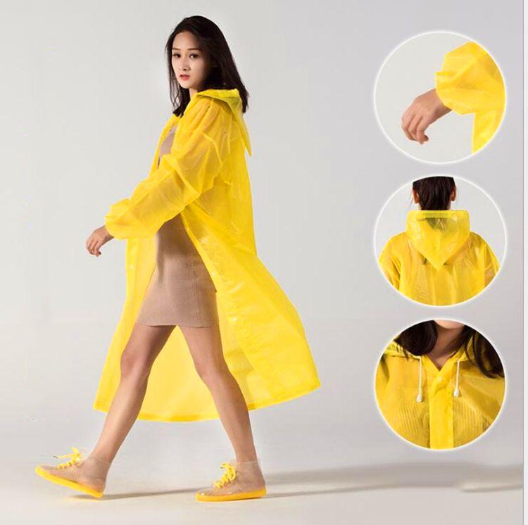 Spessa Qualità Rainwear Escursionismo Uso Singolo uso impermeabile Sicurezza Adulto per bambini Uso all'aperto Unisex Attiuso non tossico Poncho A519 UXCRC