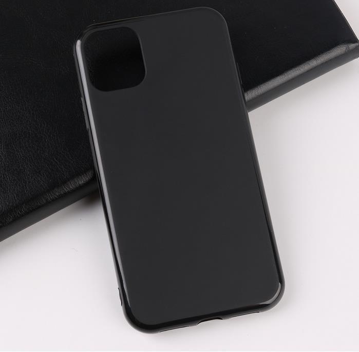 Для iPhone 11 Pro и Макс черный чехол противоударный ТПУ случаях крышка телефона высокое качество дизайн обложки телефон