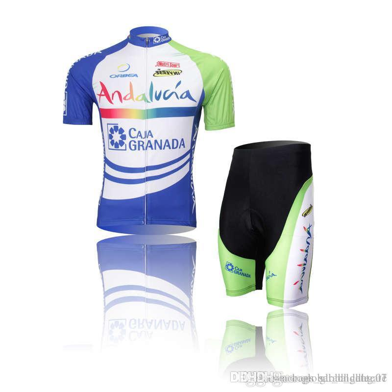 Tour de France Team Radleranzug trocknen schnell Breathable Qualitäts Straps Radtrikot Feuchtigkeitsaufnahme Schweiß H01