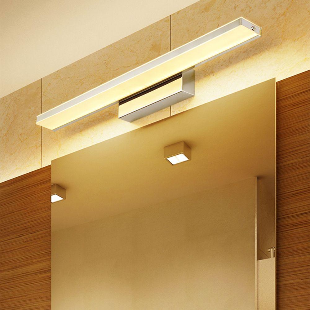 Макияж тщеславия LED Tube Настенный светильник Led Зеркало свет Зеркало фары Высококлассные Современная Luminous Освещение ванной Туалетный столик