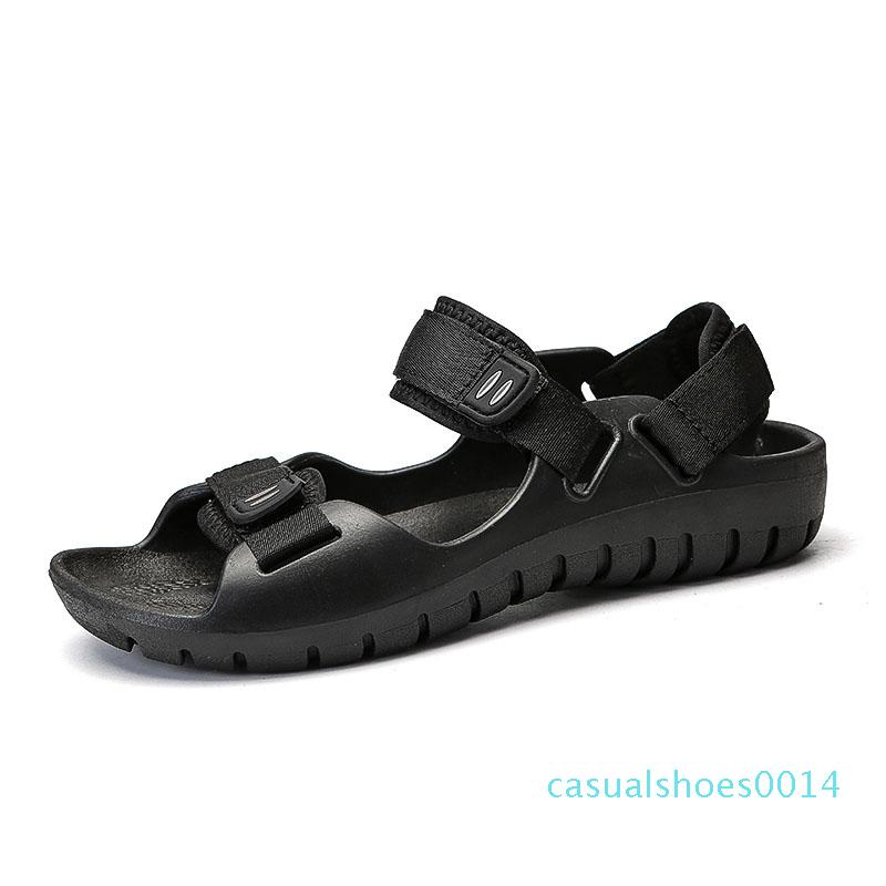 Mens sandalet yaz Açık Erkekler Tuval Ayakkabı Plaj Sandalet İçin Erkekler Rasgele Plaj Su Terlik Light'ın spor ayakkabısı Erkek Ayakkabı c14