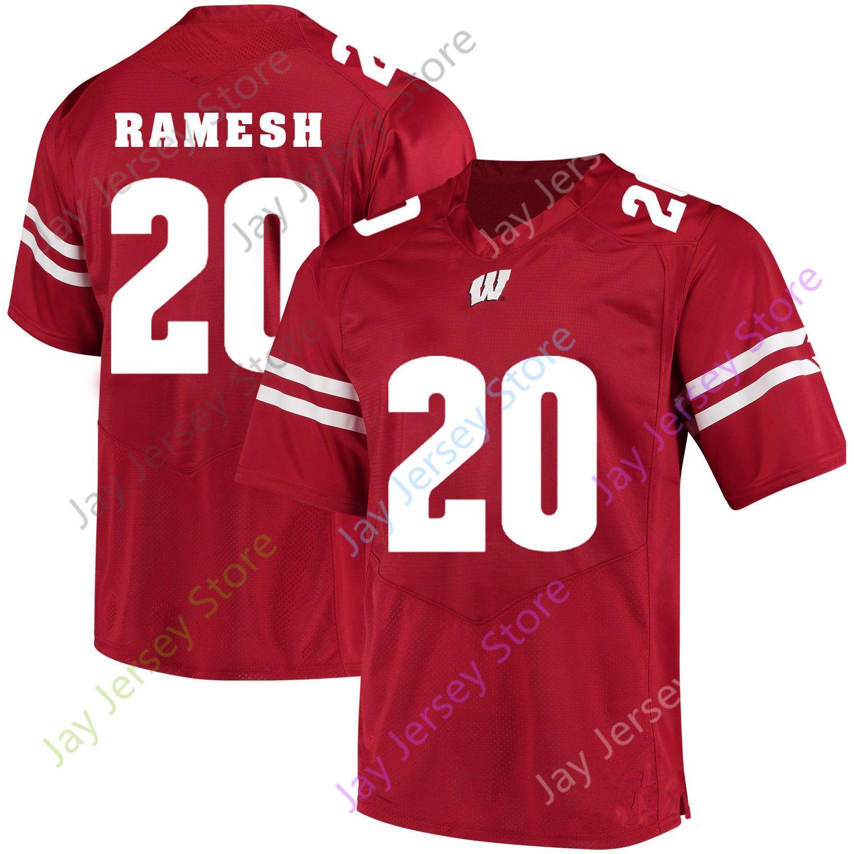 Bradrick Shaw Wisconsin Badgers Football Jersey Red
