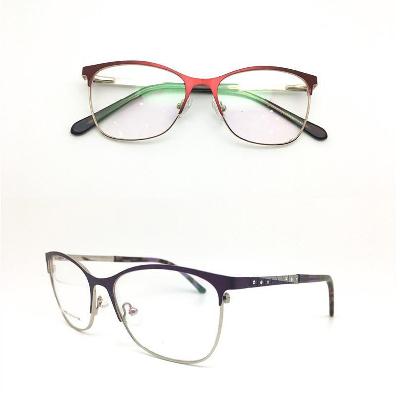 جديد جيدة رخيصة بصري اطارات رجالية أزياء المرأة خمر معدن الماس نظارات النظارات إطار نظارات نظارات نظارات السعر المنخفض CH005