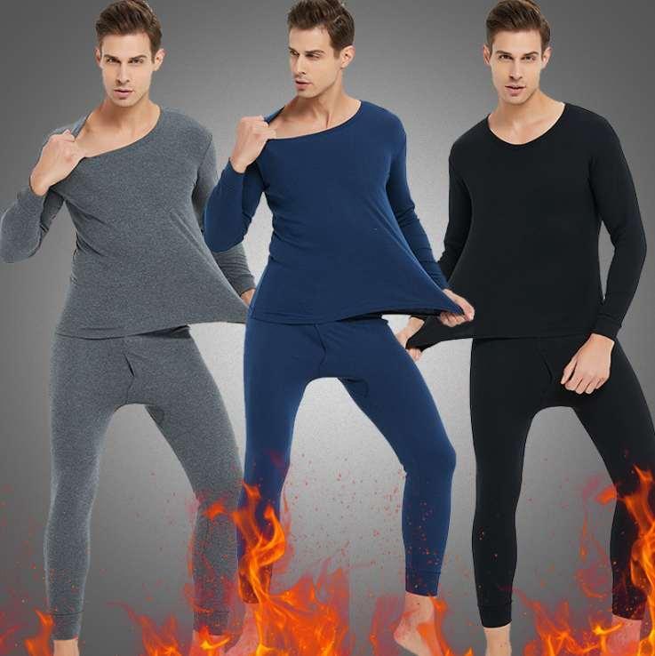 Sonbahar ve kış Termal Giyim mens külot Katı Renk elastik alt pantolon iç çamaşırı tabanını Yeni mens