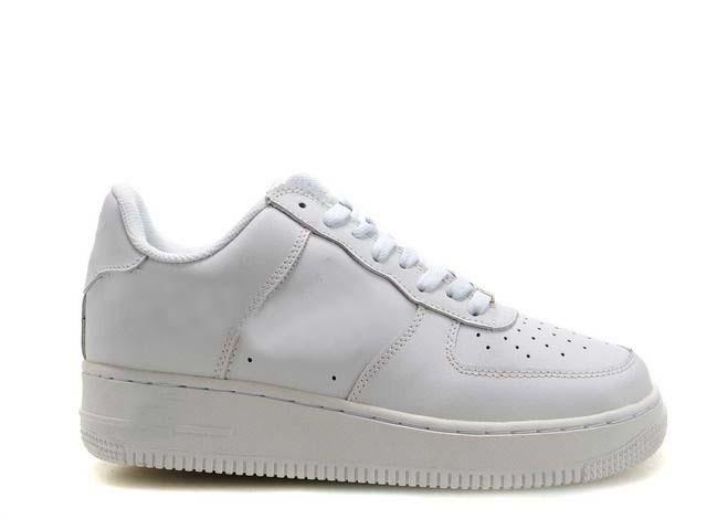 2020 Sıcak satış KESME DÜŞÜK Tamamen siyah, Tüm Beyaz Ayakkabı Erkek Kadın Lover Spor hava Paten Sneaker Ayakkabı