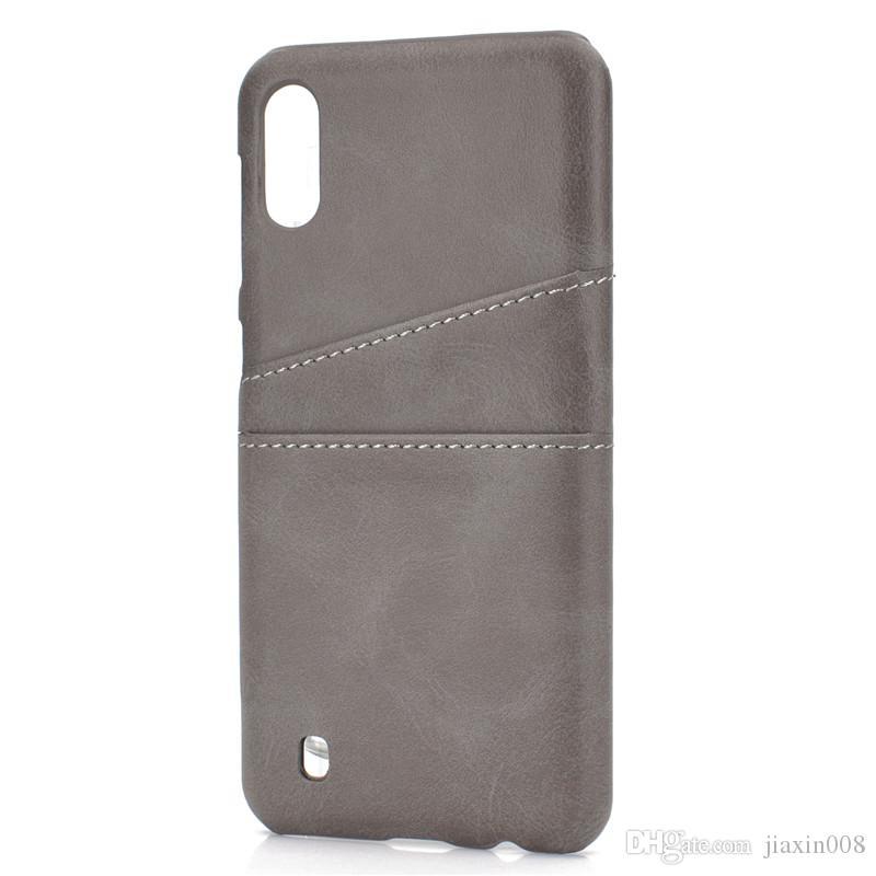 Funda de lujo para Samsung Galaxy M10 Coque con portatarjetas Fundas para teléfonos móviles Cubiertas