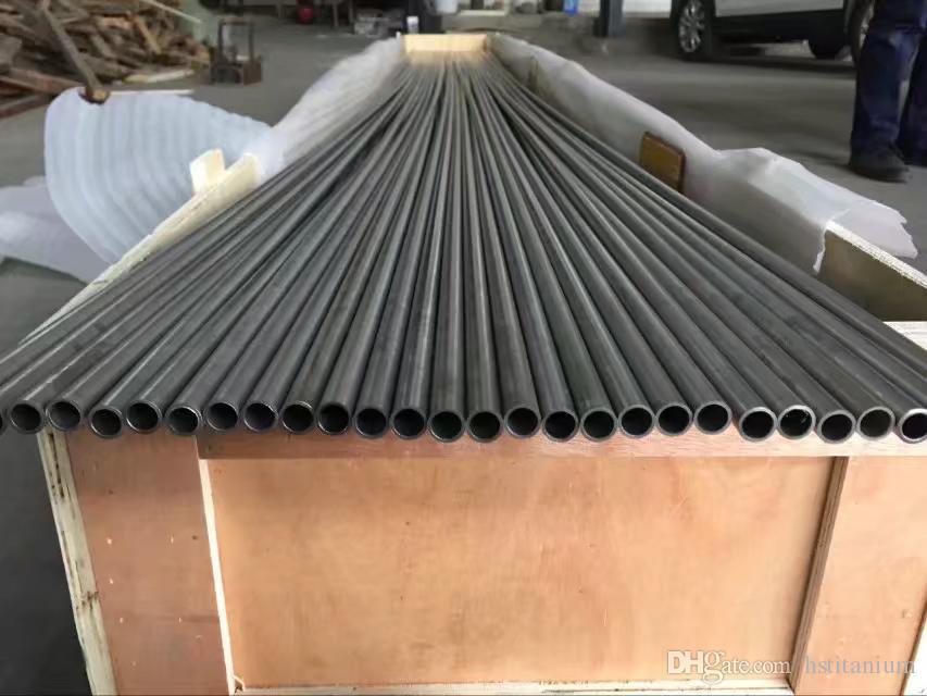 Sıcak en iyi fiyat için titanium boru gr1 gr2 gr5 gr9 astm b861 tüp / 2.5 titanyum borular Titanyum Dikişsiz Tüp