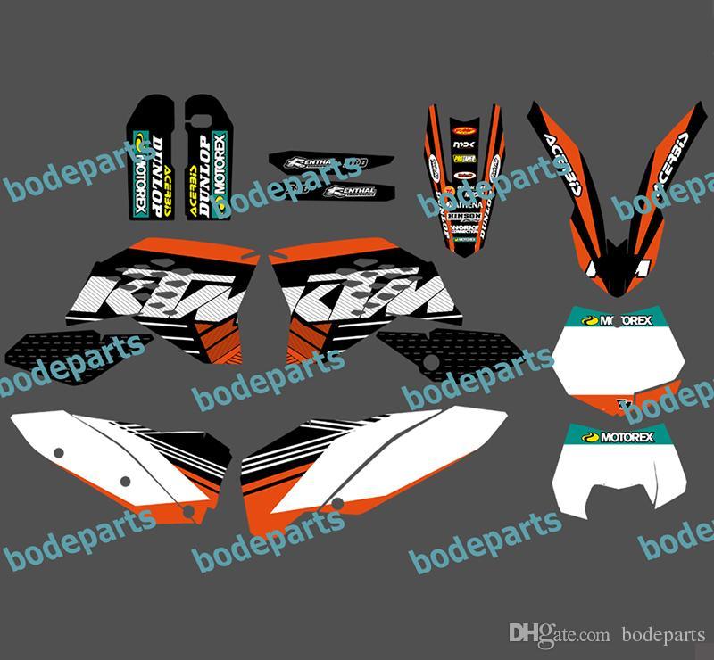 2020 Motorcycle Motor Bike KTM All Model 125 525 Decal