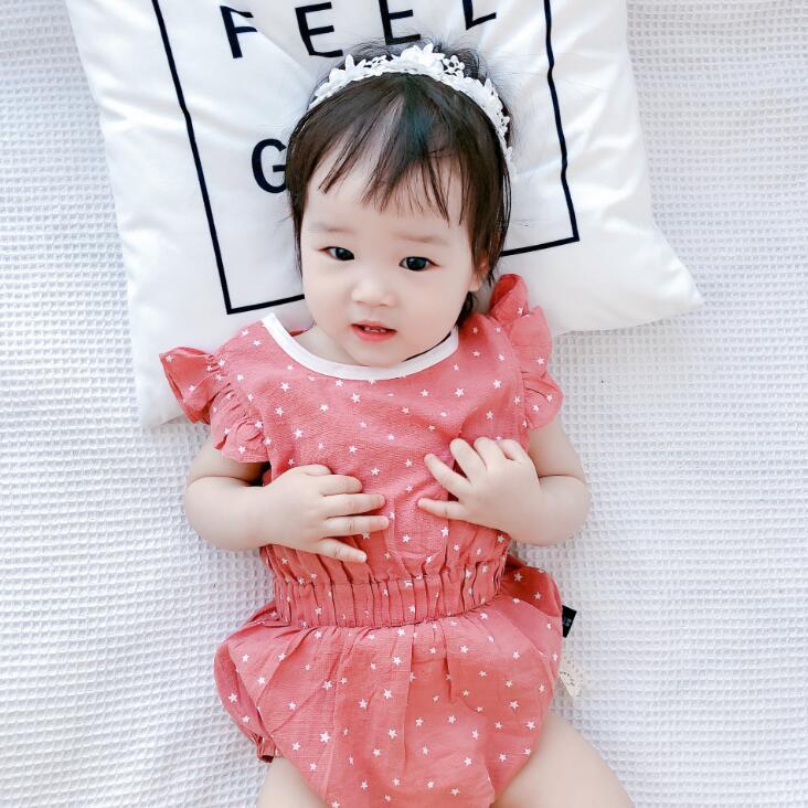 2020 nuovi ragazzi delle neonate set 2 pezzi babys gilet in cotone pantaloncini + pp di estate di modo adatti a 6-24 mesi HV122