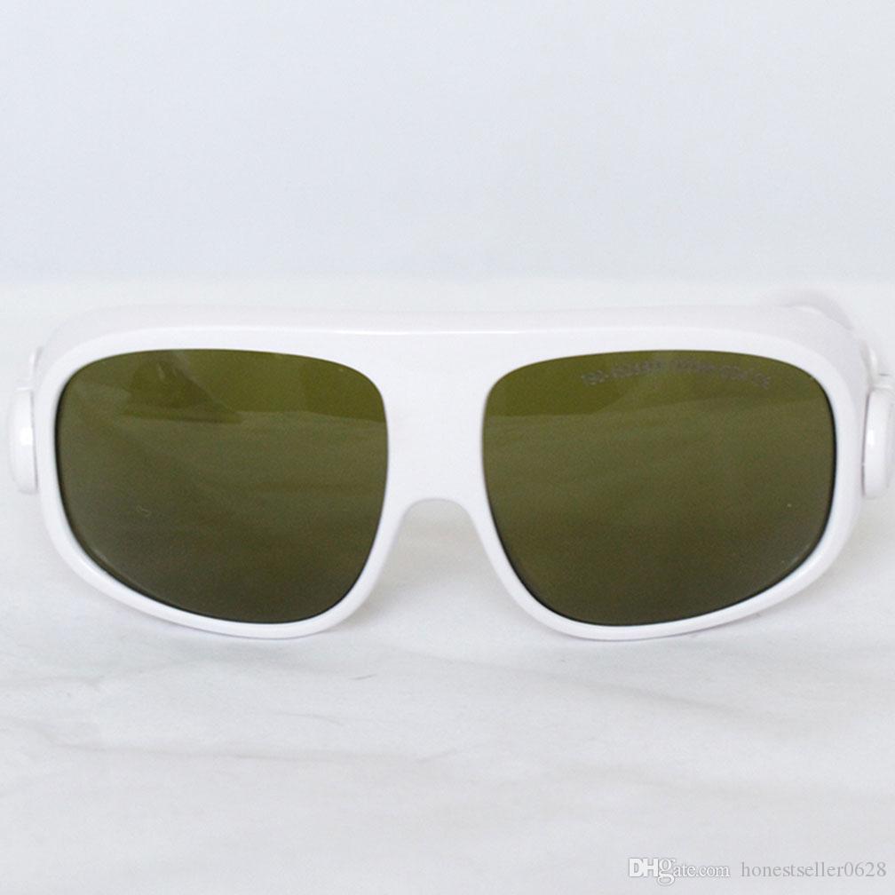 Goggle واقية من الليزر ، نظارات حماية السلامة ، OD4 + 200-450nm800-2000nm امتصاص مستمر لتعديل المسار البصري ، إزالة الوشم