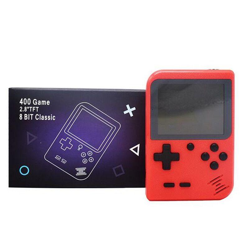 Handheld video Games Console Portable Retro 8 bit FC MODEL FOR FC 400 in 1 AV GAMES Game Player Gift for kids