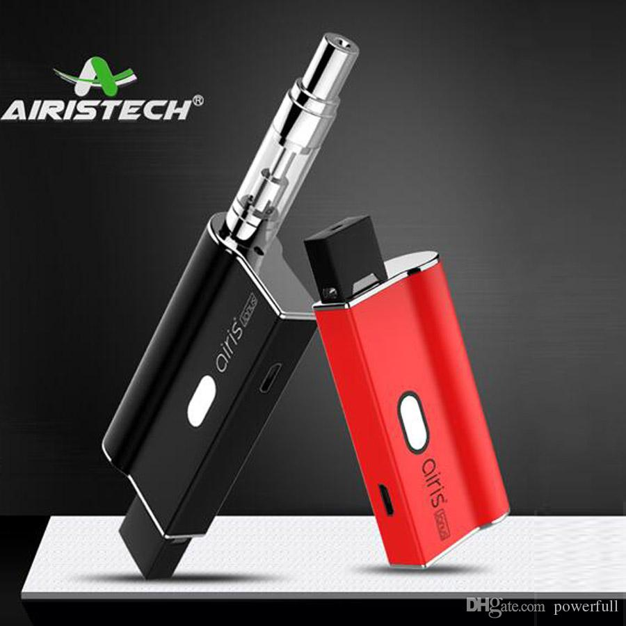 Airistech Airis Janus newest 2in1 vape battery suitable pod and 510 thread cartridge thick oil ecigarette vapor pen vaporizer battery