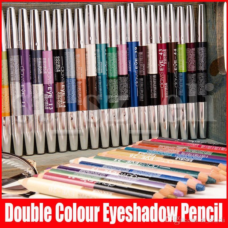 47 Colors Wooden Eyeliner Ultra Bright Eyeshadow Lip Liner Eyeliner Pen Makeup Pencil Eyes Eyeliner Pen