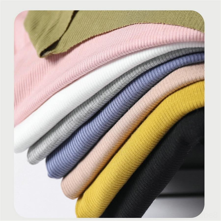 Modier хлопка нить мягкие одежды 2020 ЛИЦЕВОЙ -shirt женской короткой маски для лица Одежды маски рукав тонкого топ модной