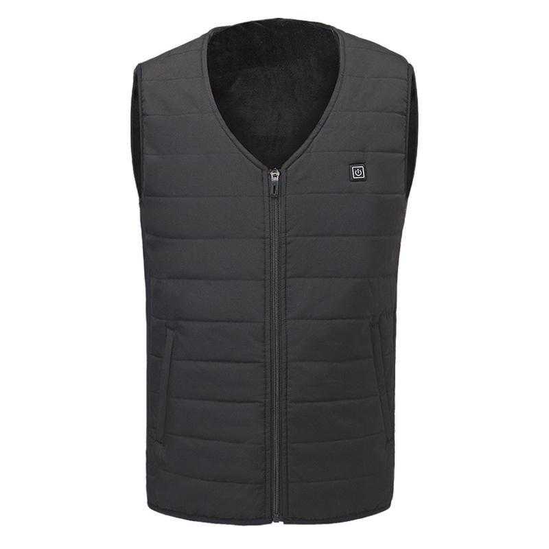 Toppick Winter Heated Vest Men Women Electric Heated Jacket Thermal Clothes Fishing Hunting Fast Heat Waistcoat Gilet Chauffant