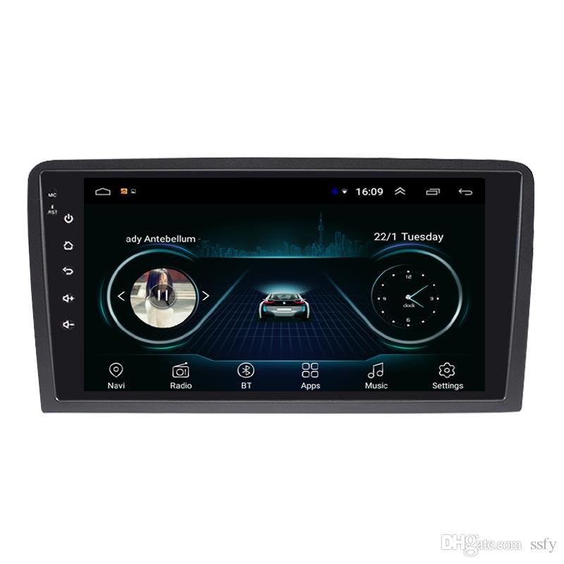 Android car mp3 mp4 player fast delivery Resolution HD1080 display Resolution 1024 * 600 USB for AUDI A3 S3 9inch