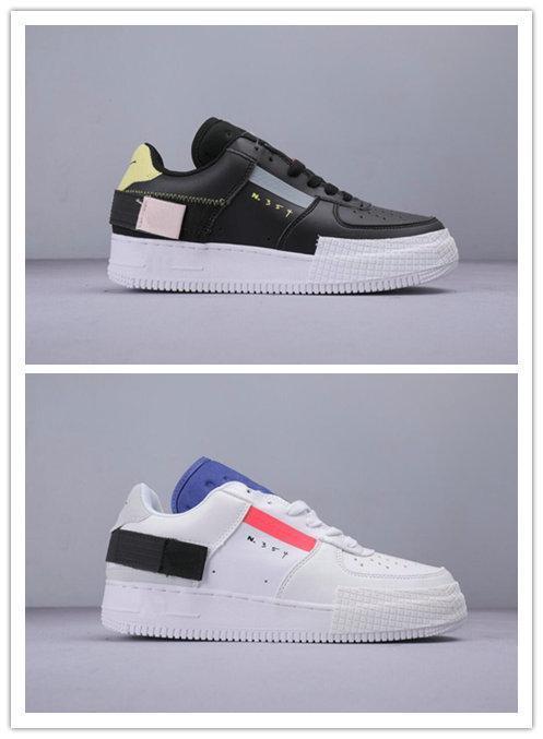1 Tipo N.354 Utility 1s donne N354 Classic Uomo Nero Bianco Scarpe Arancione Skate Low Cut Froced Sneaker Sneakers Designer Esecuzione