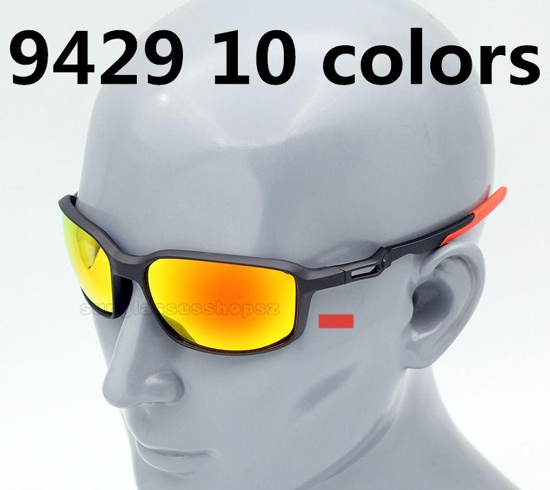 Neue 9429 Sonnenbrille Schutz Männer Explosion Farben TR90 Polarisierte Modelle Outdoor Sonnenbrille 10 UV400 Goggles Freies Verschiffen CQJPB