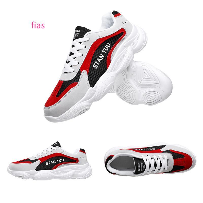 Mesh femmes en cuir hommes chaussures de course marque maison Fabriqué en Chine Rouge Bleu Blanc femmes entraîneurs des hommes de sport chaussures de sport de marque taille 39-44