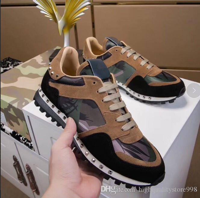 as últimas Luxury236ss couro genuíno RUN LONGE Designered Sneakers moda casual sapatos mens Shoes formadores mens de várias cores
