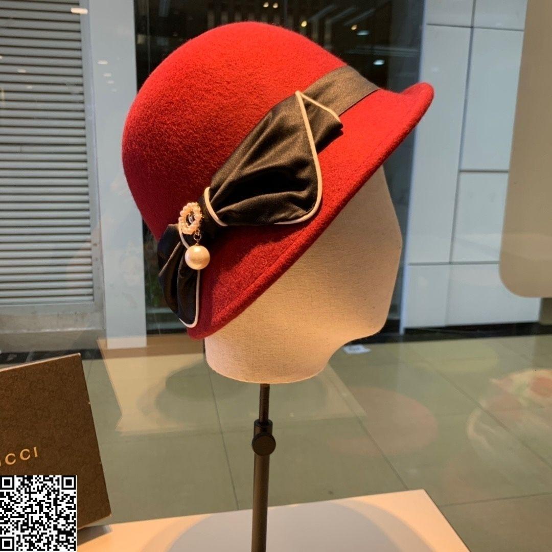высокое качество шапки мода топ шляпы женщины шляпы шапки повседневная ведро шапки рождественские подарки 20191115-hj45009#2657