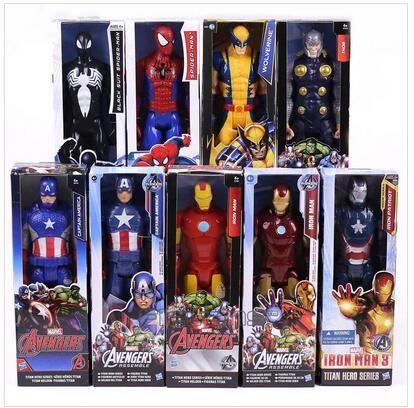 "12/"" Marvel The Avengers Titan Hero Series Action Figure Thor Kid Toys gift"