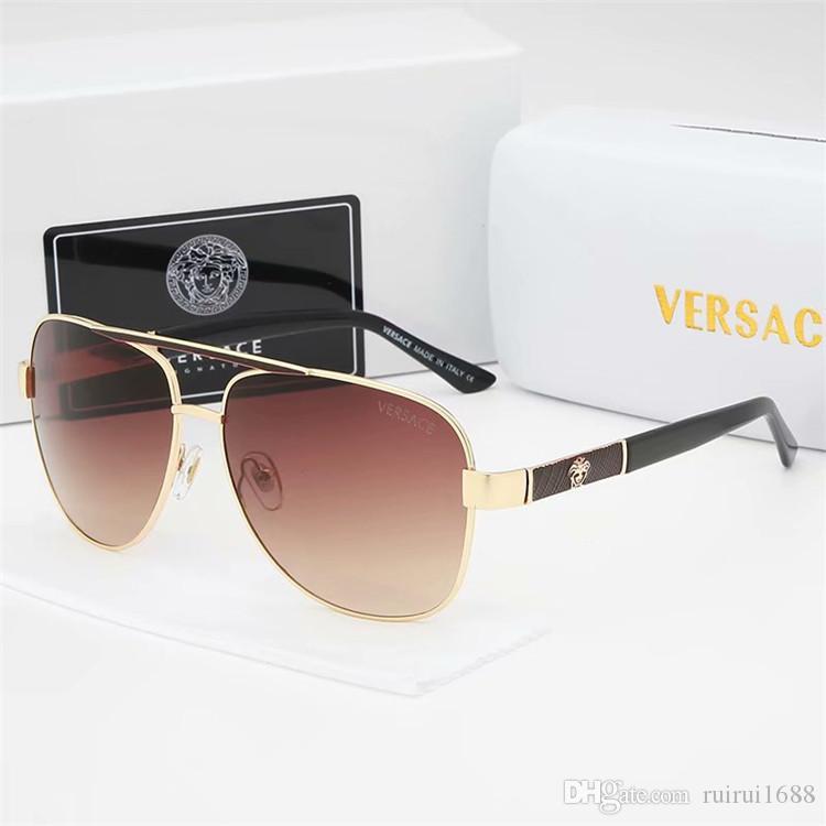 Hot 2019 nueva calidad superior de lujo Nueva moda 0339 Tom Gafas de sol para hombre Mujer Erika Eyewear ford Designer Brand Gafas de sol con caja