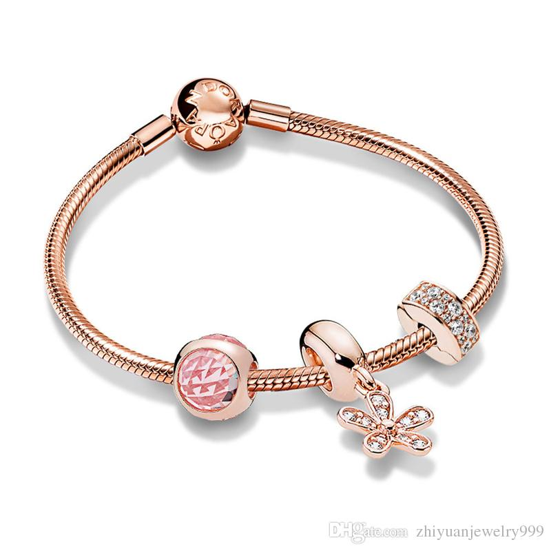 charms pandora or rose