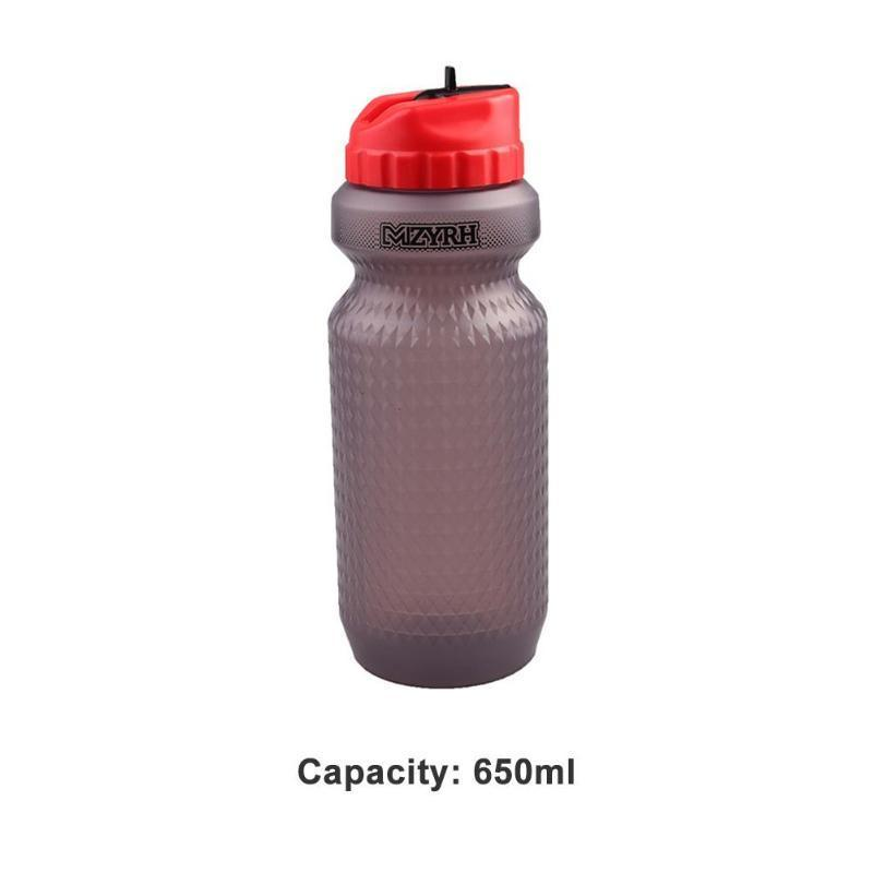 Bicycle Riding Equipments Kettle 650ml Without BPA Safe Tasteless Portable High Temperature Resistance Sports Water Bottles