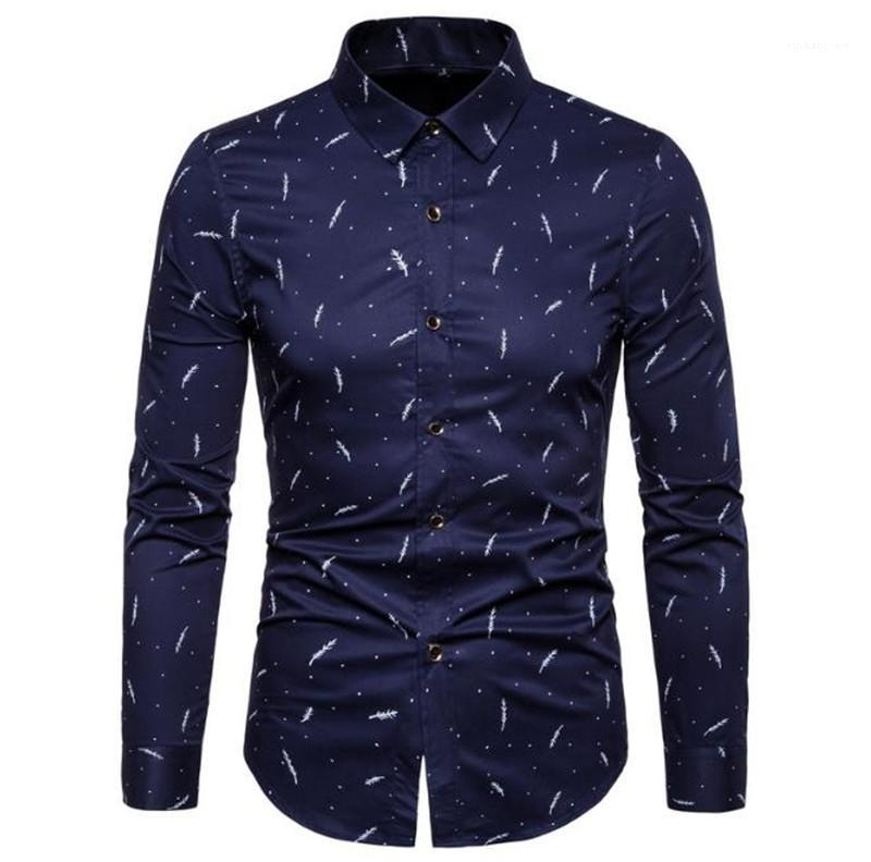 Shirts Mens Dress Shirt Plus Size Slim Fit Street Langarm-Qualitäts-Männer Shirts Mode-Marken-Entwerfer