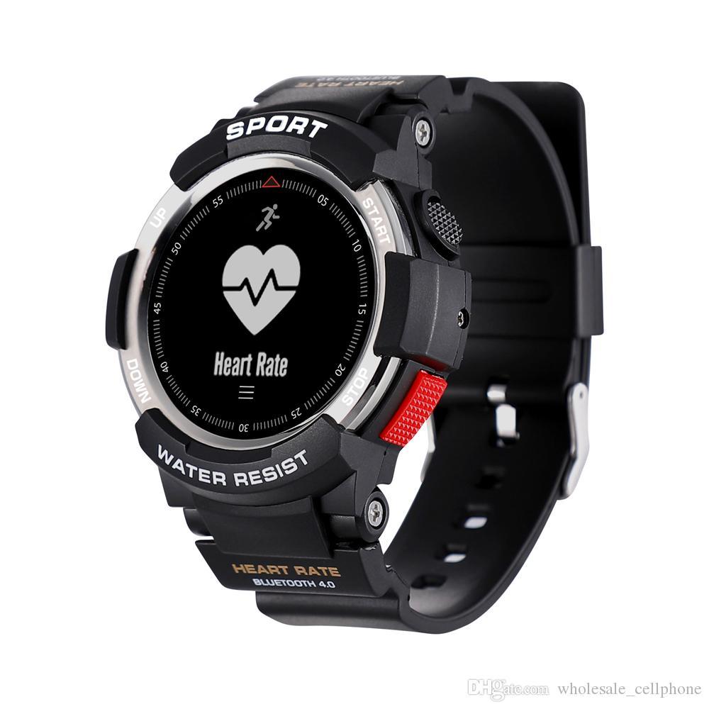 F6 الذكية ووتش IP68 للماء بلوتوث الحيوي رصد معدل ضربات القلب الذكية ساعة اليد للياقة البدنية المقتفي Passometer سوار للحصول على الروبوت فون