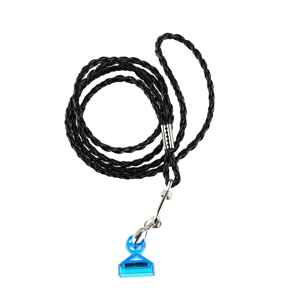 Authentic Demon Killer Lanyard For COCO Jul With Strong Magnet Tips Necklace Holder Metal Leather Material String