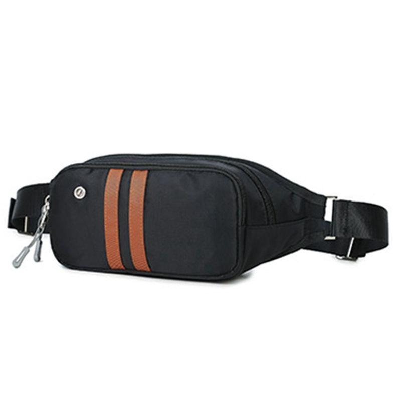 Gürteltasche Umhängetasche Tasche Hüfttasche Umhängetasche für Männer, Nylon-Pack, Reise Brustbeutel Kreuz