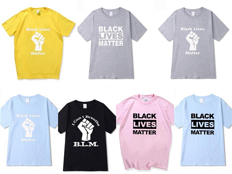 I Cant Breathe! Neue Ankunft Mens Designer T-Shirts Kurzarm-T-Shirts T-Shirt Baumwollmischung für Sommer-Marken-Mode-T-Shirt mit Letter # 240