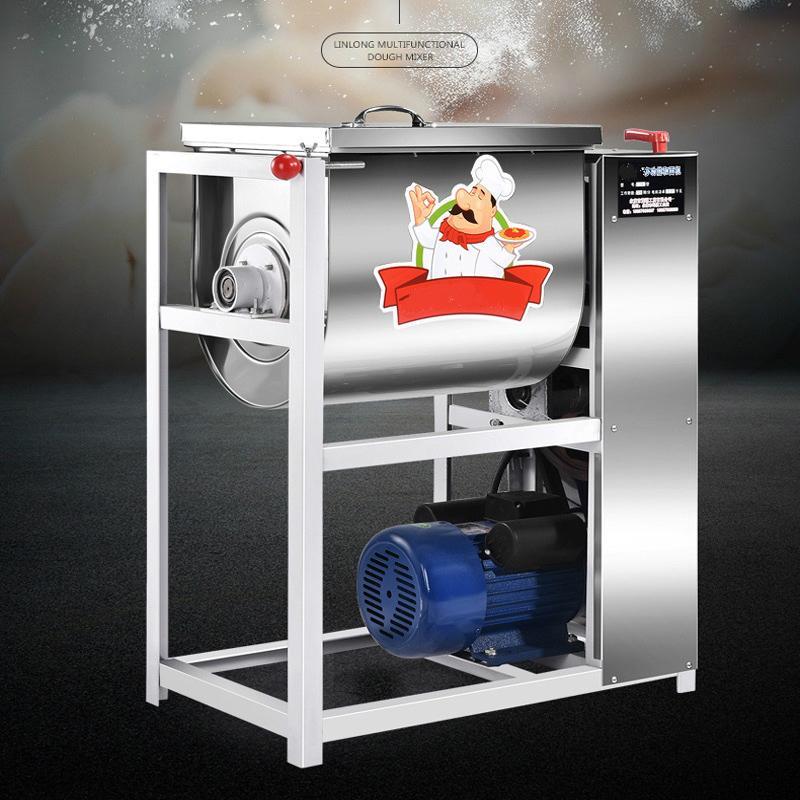 Vertical dough mixer machine for pizza cake shop pasta shop buns 1500W stainless steel dough mixer