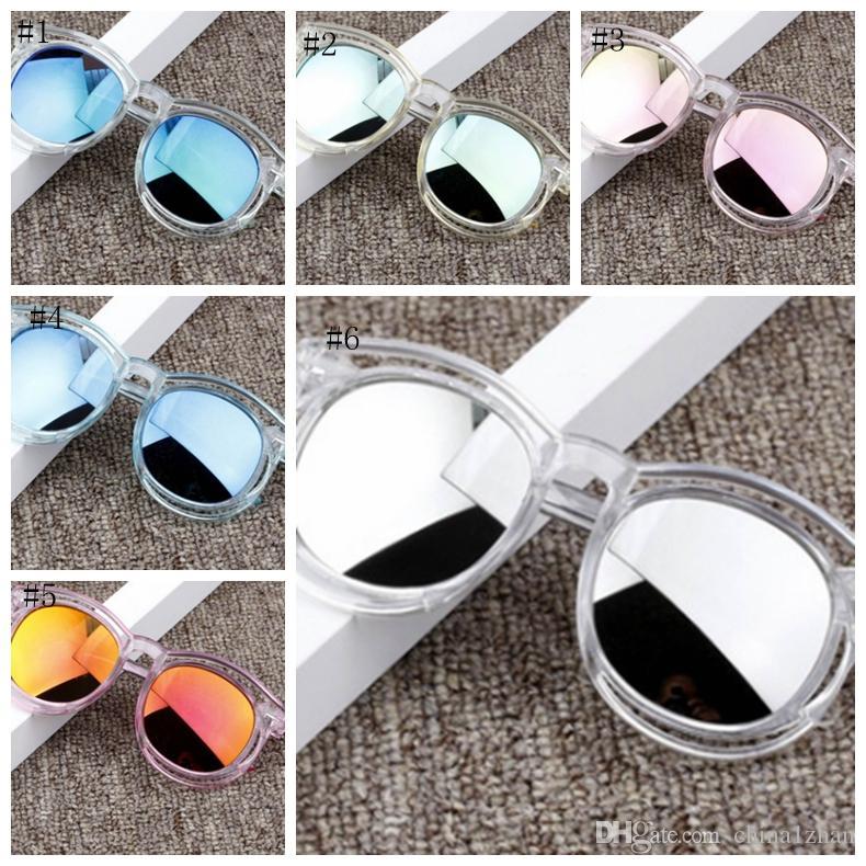 Bambini occhiali da sole occhiali protezione moda sole ragazzi UV400 Girl 12 Occhiali da vista Guesting Bambini Eyewear Bambino Design DHW3653 Luxury VRGWC