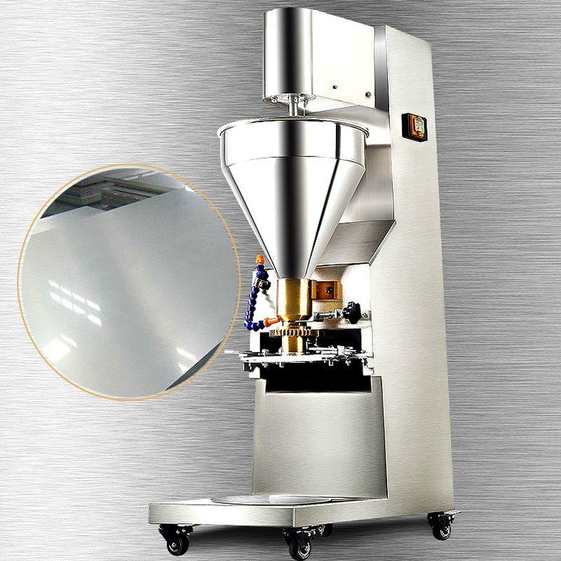 Melhor venda automática pequena almôndega tomada de mesa de frango congelado / fabricante formando preço da máquina para venda 1100W